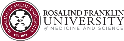 Rosalind Franklin University Mobile Logo